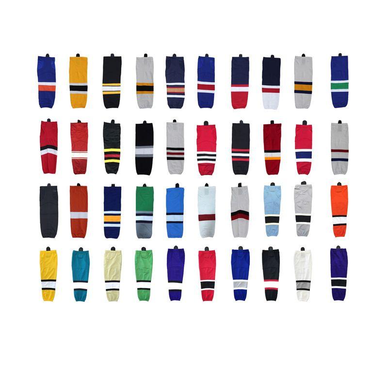 100% polyester chaussettes de Hockey sur glace équipement personnalisé équipe Sport Support peut personnalisé comme votre Logo/taille/couleur chaussettes