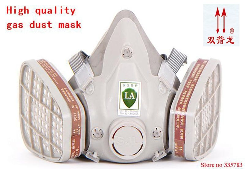 High quality antivirus respirator mask general carbon filter mask pesticides paint welding spray anti pollution face mask