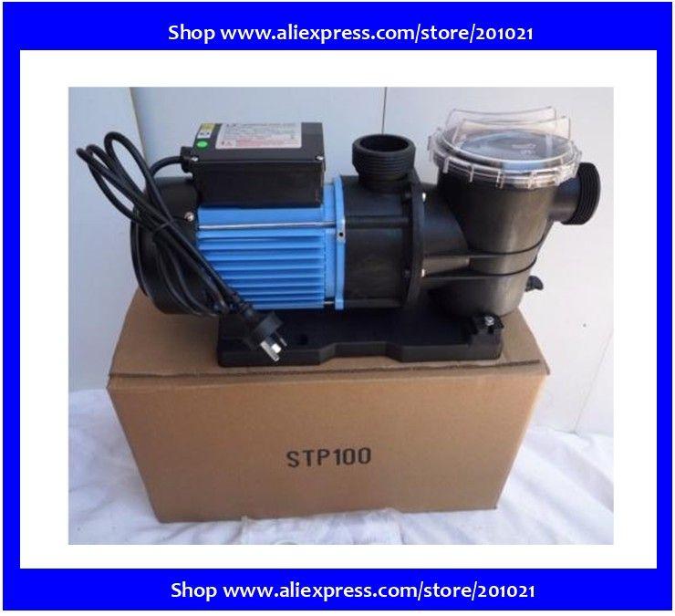 Spa, piscine, pompe 1.0HP avec filtration & pompe de piscine spa nage STP100