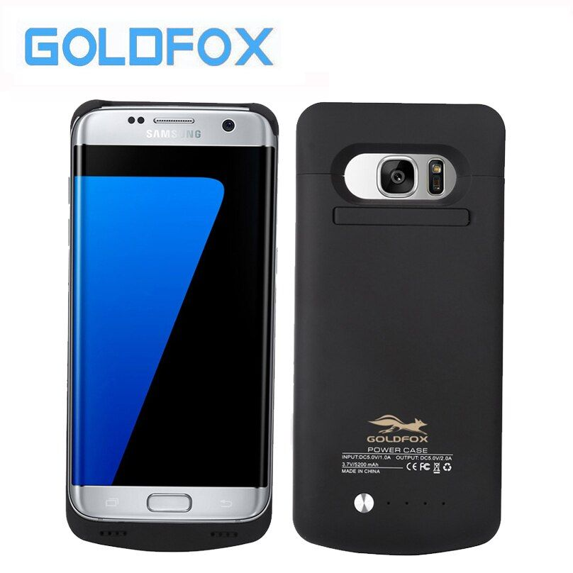 For Samsung Galaxy S7/S7 Edge Power case 4200mAh/5200mAh External Battery Charger Case for Galaxy S7 Edge Backup Charger Case