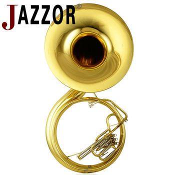 JAZZOR JBSH-100 sousaphone B plat blanc de cuivre tube de Son corps En Laiton instrument à vent