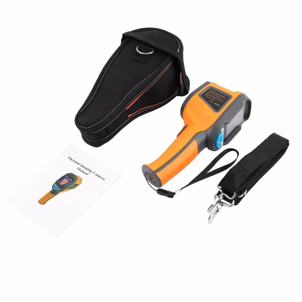 Handheld Infrared Thermometer Imaging Camera Precision Protable Thermal Imager 2.4 Inch High Resolution Color Screen Camera