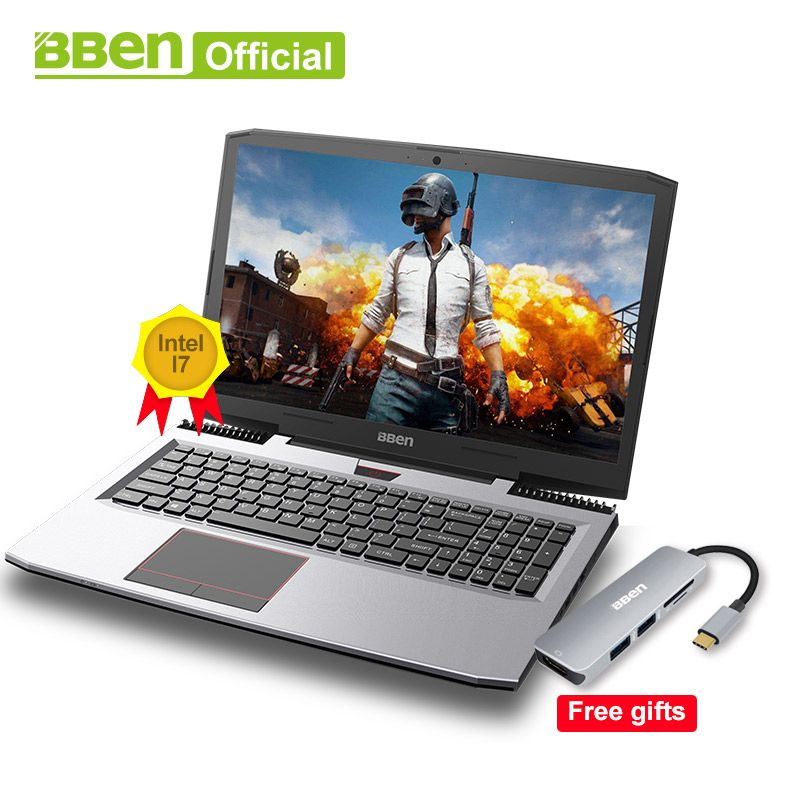 Bben Gaming Laptops Intel Core i7-7700HQ 15,6