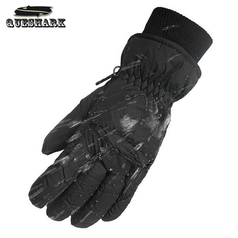 Unten-30 Grad Wasserdicht Herren Ski Handschuhe Winter Warm Radfahren Handschuhe Klettern Winddicht Motocross Motorrad Snowboard Handschuhe