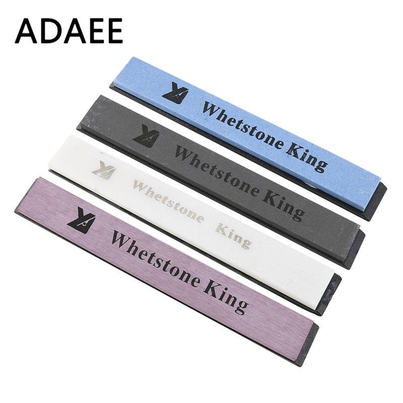 Pierres à aiguiser professionnelles ADAEE 4 pièces/ensemble Whetstone 320 #, 800 #, 3000 #, 6000 # meule à aiguiser pour aiguiseur de couteaux H5