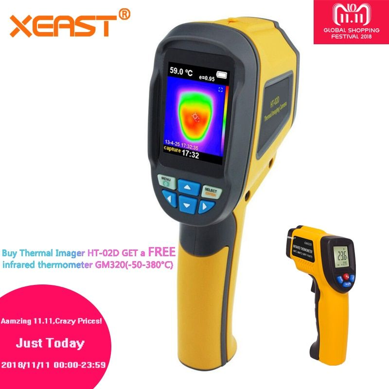 Quickly to Reach Russia and the World Handheld Thermal Imaging Camera HT02 Portable Infrared Imaging Device HT-02