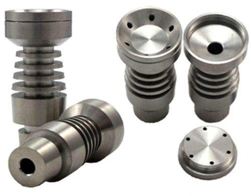 Usine Prix T-003 Domeless Titanium Ongles Titanium GR2 Nail Commune À La Fois 14mm et 18mm En Verre Narguilé Conduite D'eau