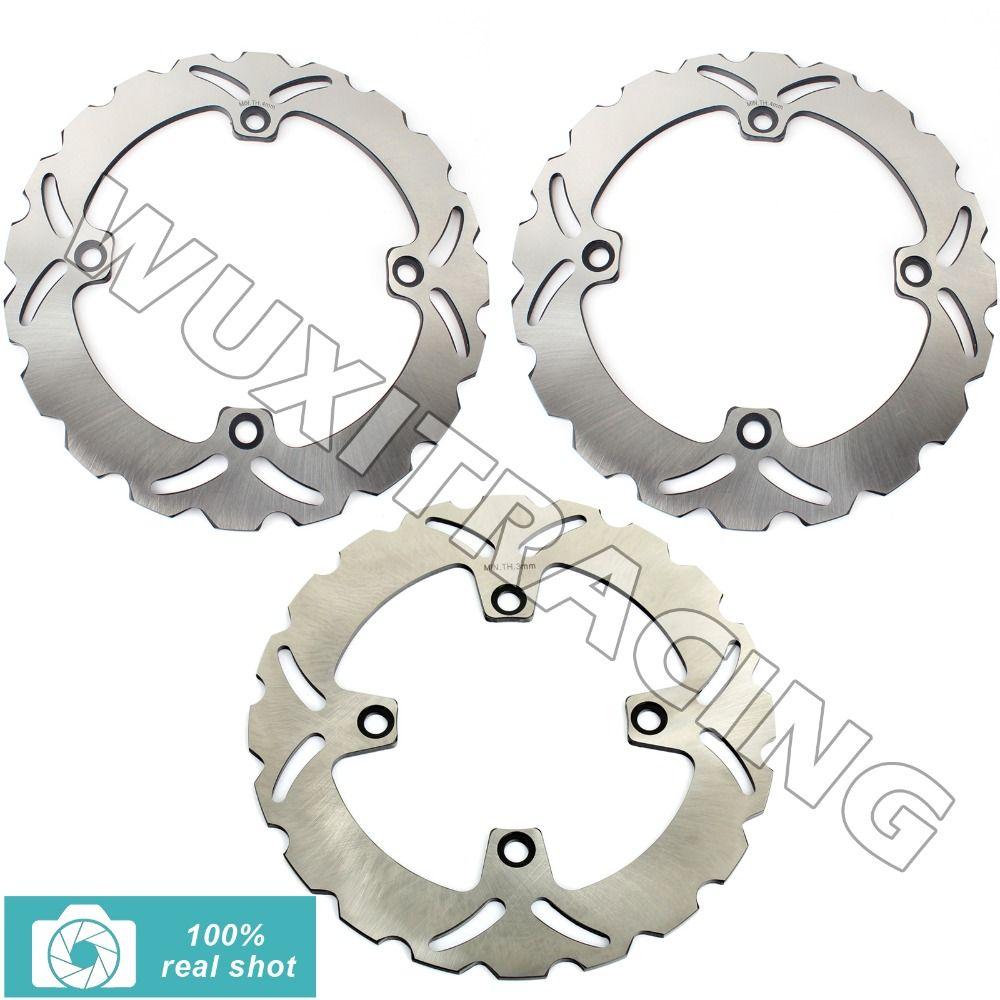 97 98 99 00 01 02 03 04 05 06 07 08 09 10 11 New Front Rear Full Set Brake Discs Rotors for Honda XLV TRANSALP 600 600 700 /ABS