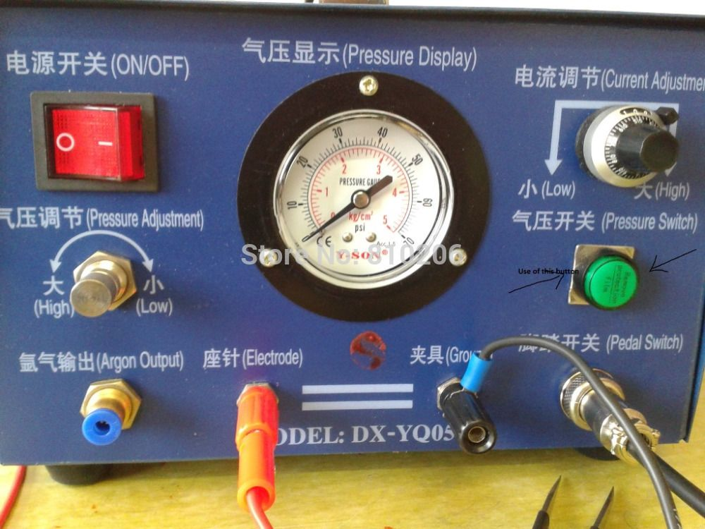JEWELRY SPOT WELDING MACHINE ELECTRONIC SPARKLE WELDER JEWELRY ARGON WELDER JEWELRY TOOLS & EQUIPMENT