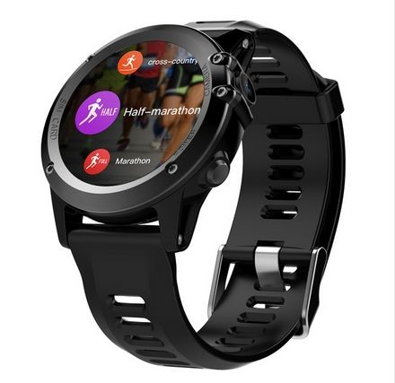 ABAY H1 Smart Watch IP68 Waterproof GPS Smartwatch Phone Android Wifi Bluetooth Watch Phone with Camera Compass Multi Sport