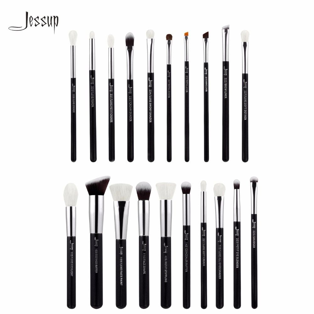 Jessup Brushes 20pcs Professional Makeup Brushes Set Cosmetics Brush Tools kit Foundation Powder Brushes T185