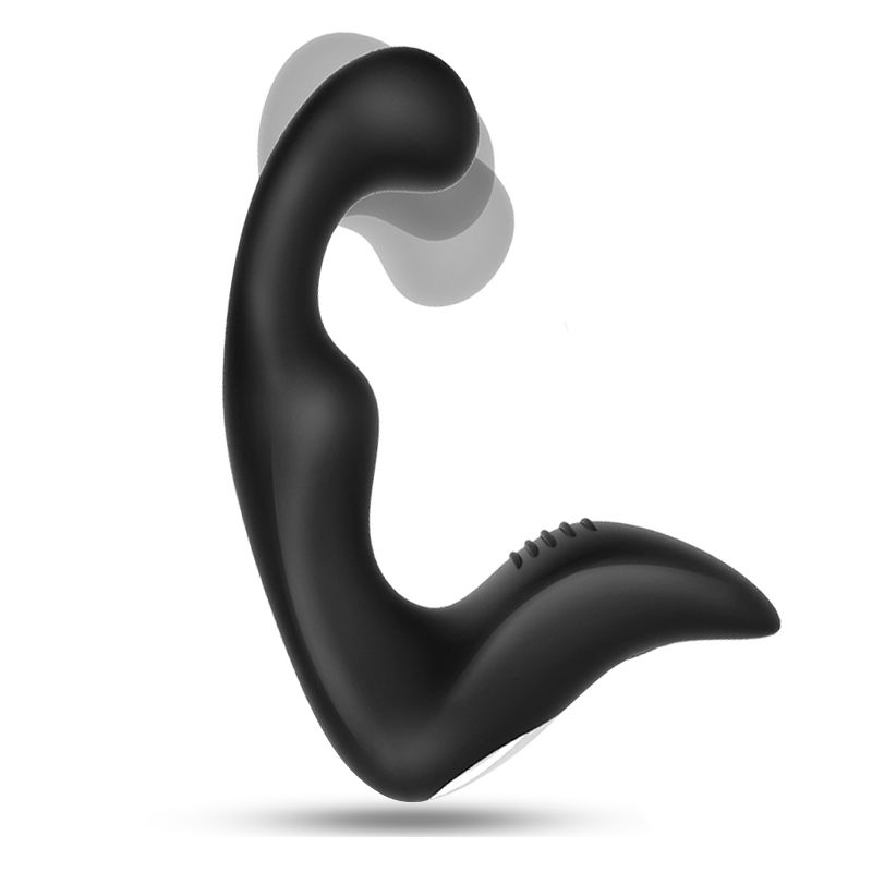 Prostate Massager Anal Plug Vibrator Silicone 10 modes Butt Plug Sex Toys for Men Masturbator Anal Toys for Adult Waterproof