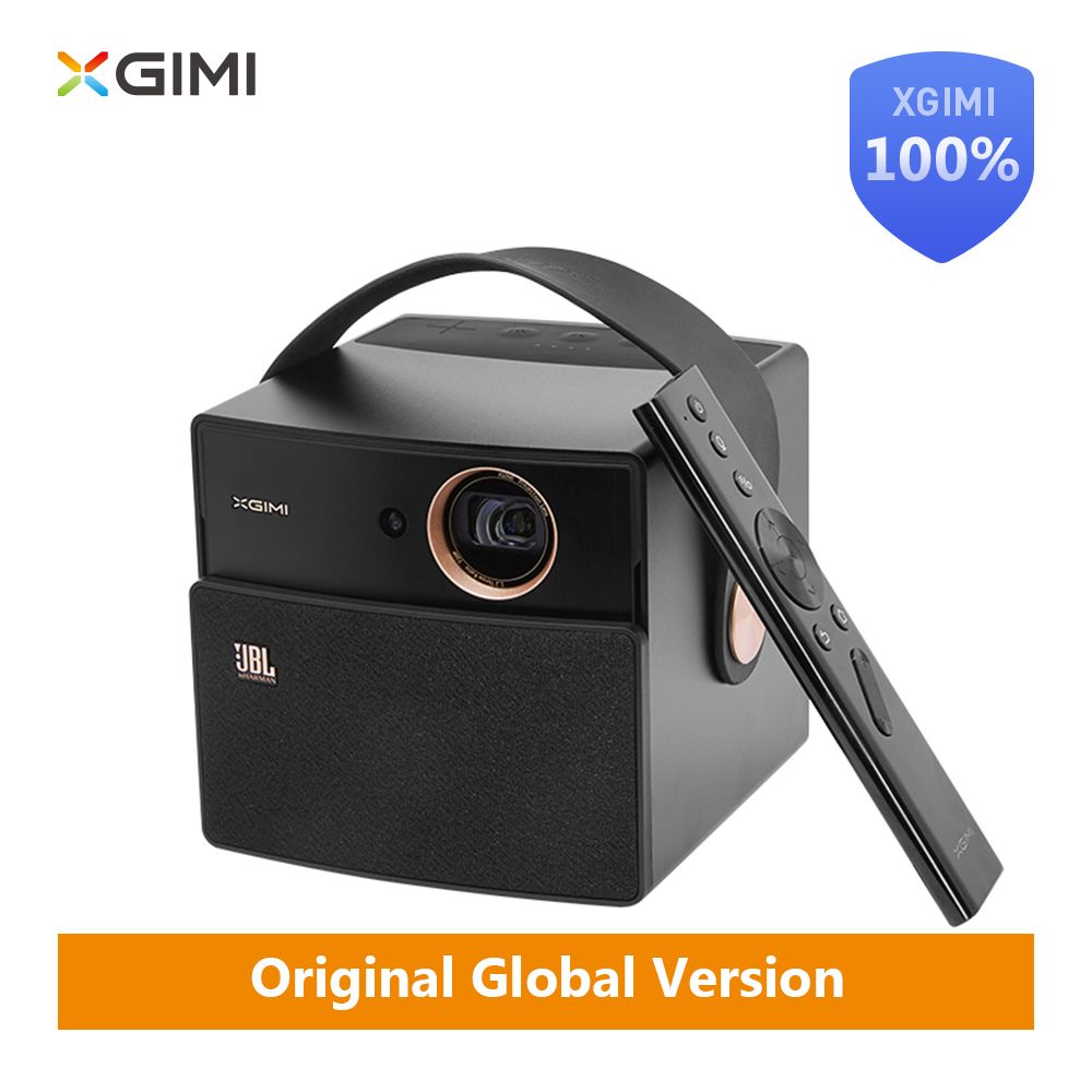 Original XGIMI CC AURORA Dark Knight MINI Projector DLP 350ANSI Lumens 16GB LED Android Bluetooth 4k portable video Home Theater