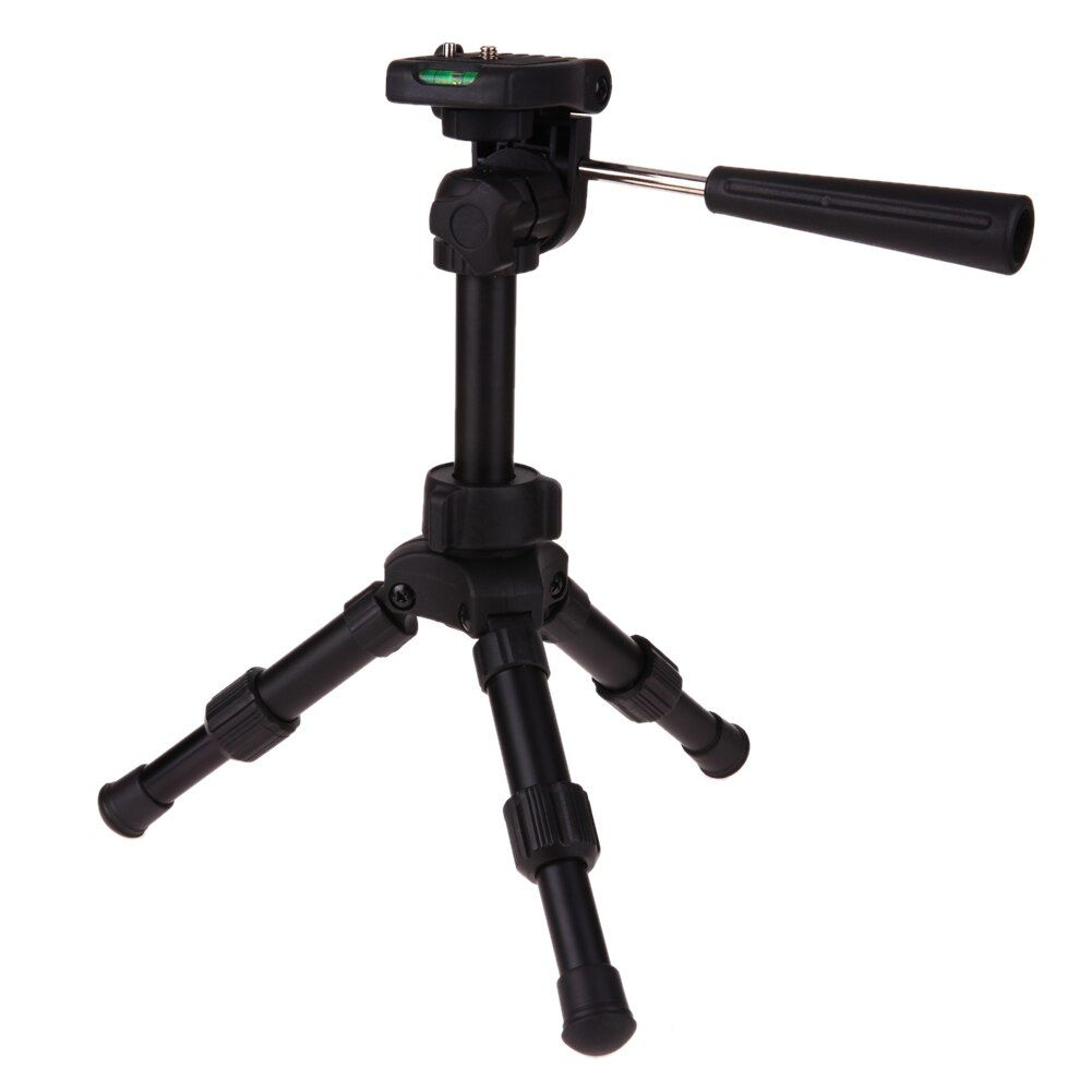 Алюминий сплав Камера штатив ручка Quick Release Plate уровень Штатив для Canon DSLR Камера видеокамера Камера держатель с мешком