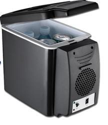 12 V portable voiture réfrigérateur refroidisseur et plus chaud avec ceinture tenir 6L 26 W/44 W
