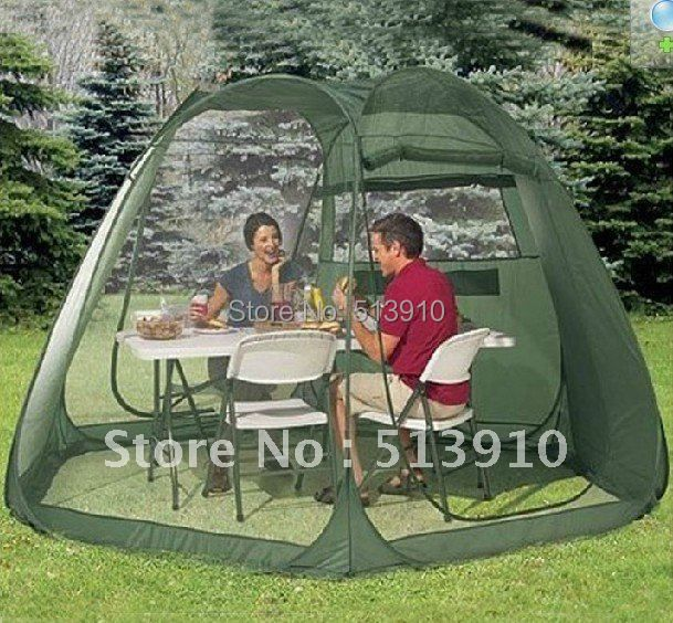 5-10PERSONS LARGE ROOM PARTY TENT/POP UP GARDEN TENT