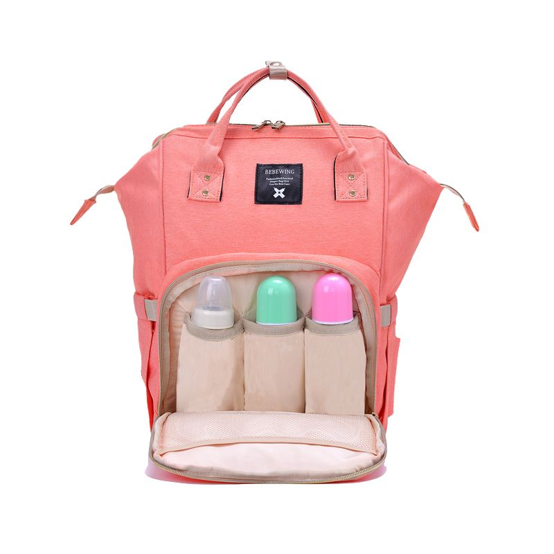 Diaper Bag Mommy Maternity Nappy Bags Large Capacity Baby Travel Backpack Desiger Nursing Bag Baby Care For Dad and Mom 2018