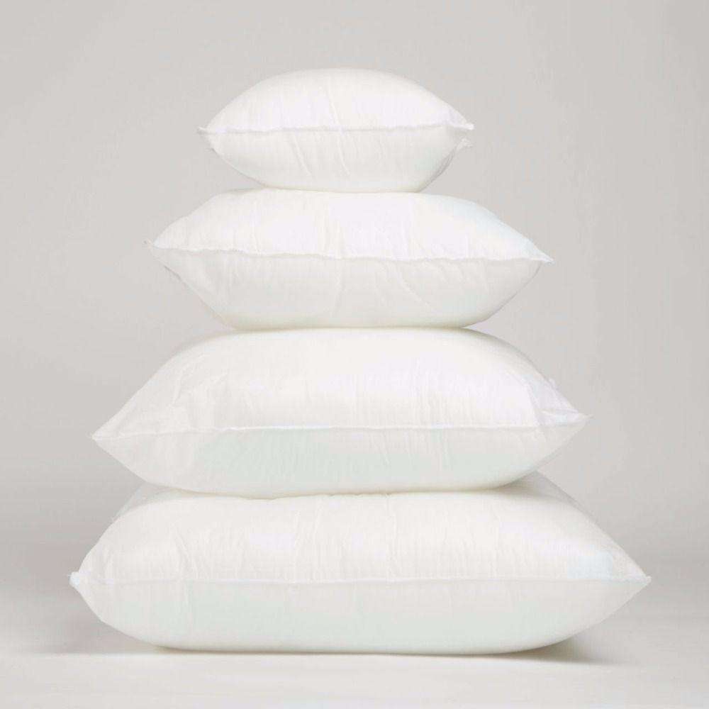 UOOPOO haute qualité blanc coussin Insert doux PP coton pour voiture canapé chaise jeter oreiller noyau intérieur siège coussin remplissage