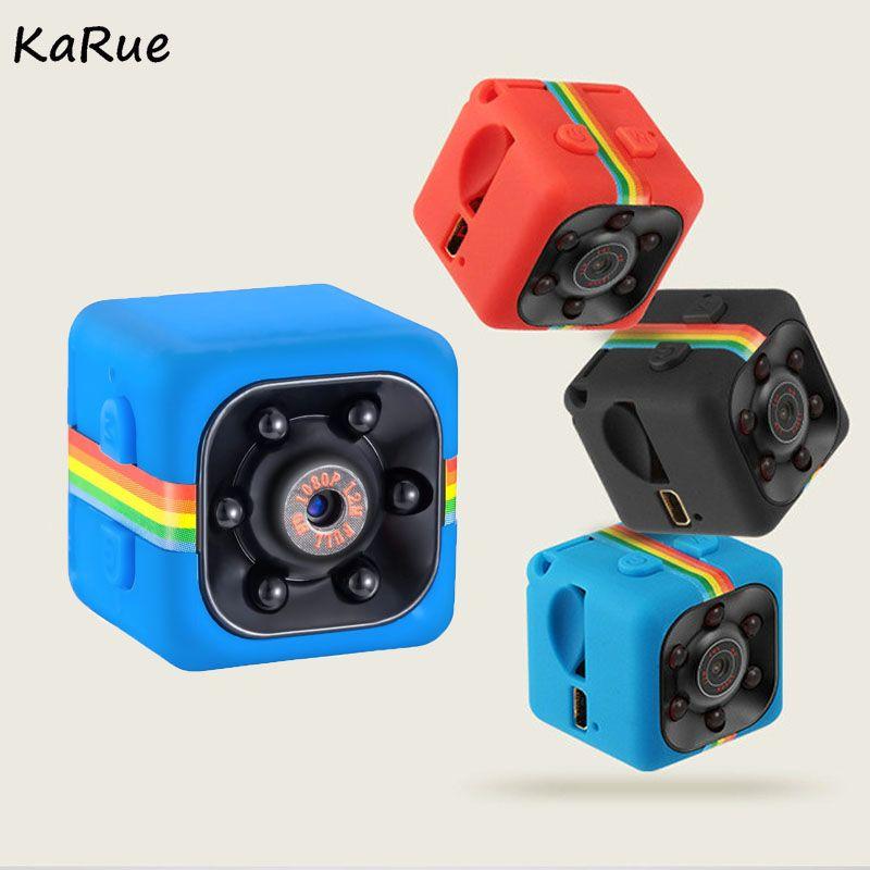 Karue SQ11 SQ8 grabador de vídeo digital HD 1080 p mini DV mini cámara videocámara ir visión nocturna 140 grados len dvr