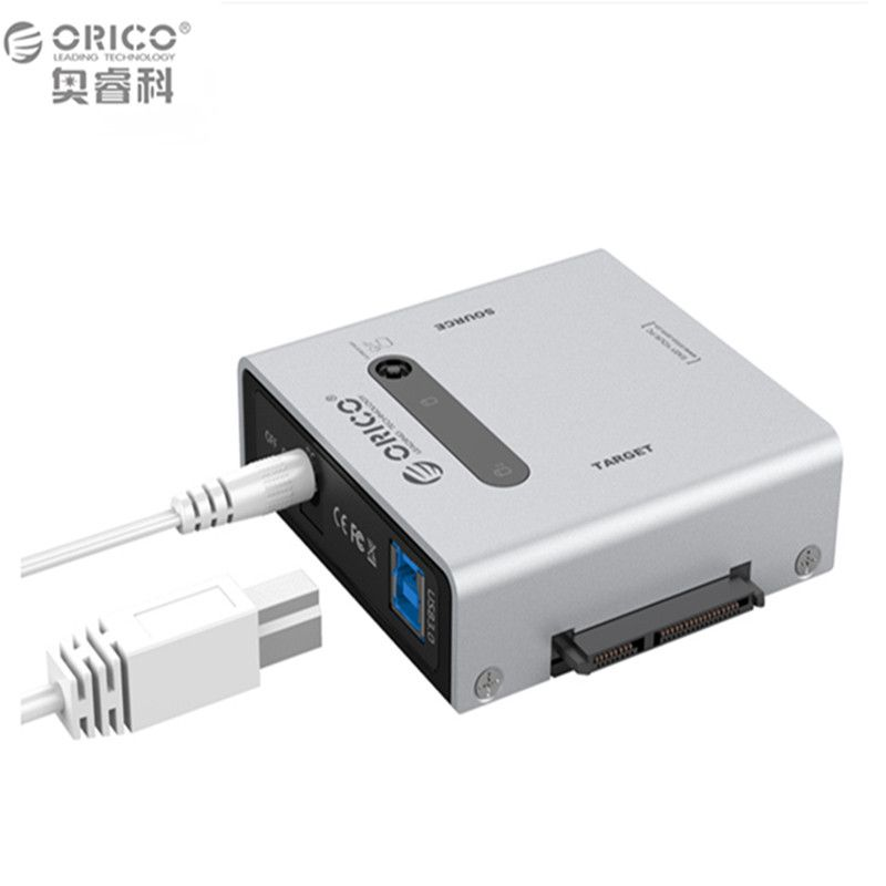 Orico 2012US3-C-US-SV SATA HDD Replicator support 12TB disk drive with 12V4A power adapter SATA Cables Offline Clone device