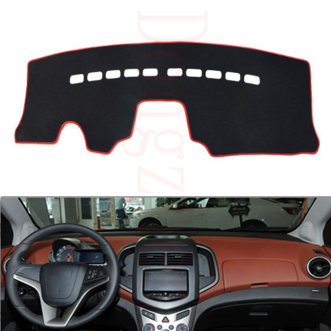 Dongzhen Fit For Chevrolet Aveo 2011-2013 Car Dashboard Cover Avoid Light Pad Instrument Platform Dash Board Cover