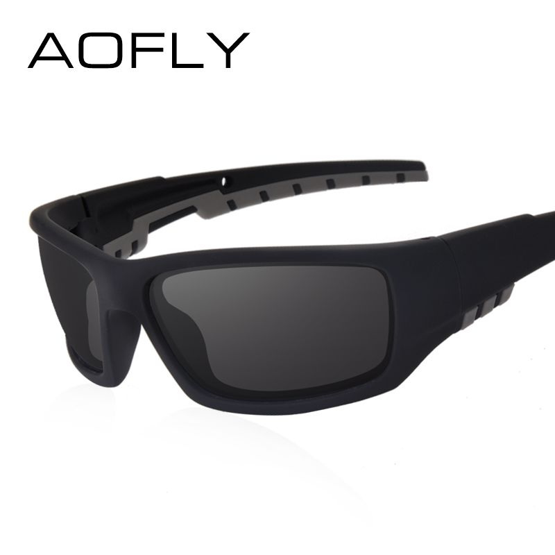 AOFLY Nuevo Espejo Polarizado Gafas de Sol Gafas de Diseño Clásico Retro de la Marca de Los Hombres Gafas / Gafas de Sol Oculos gafas AF8061