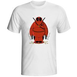 Deadpool Adalah Pahlawan T Shirt Keren Skate Gaya T-shirt Kasual Fashion Hip Hop Unisex Tee