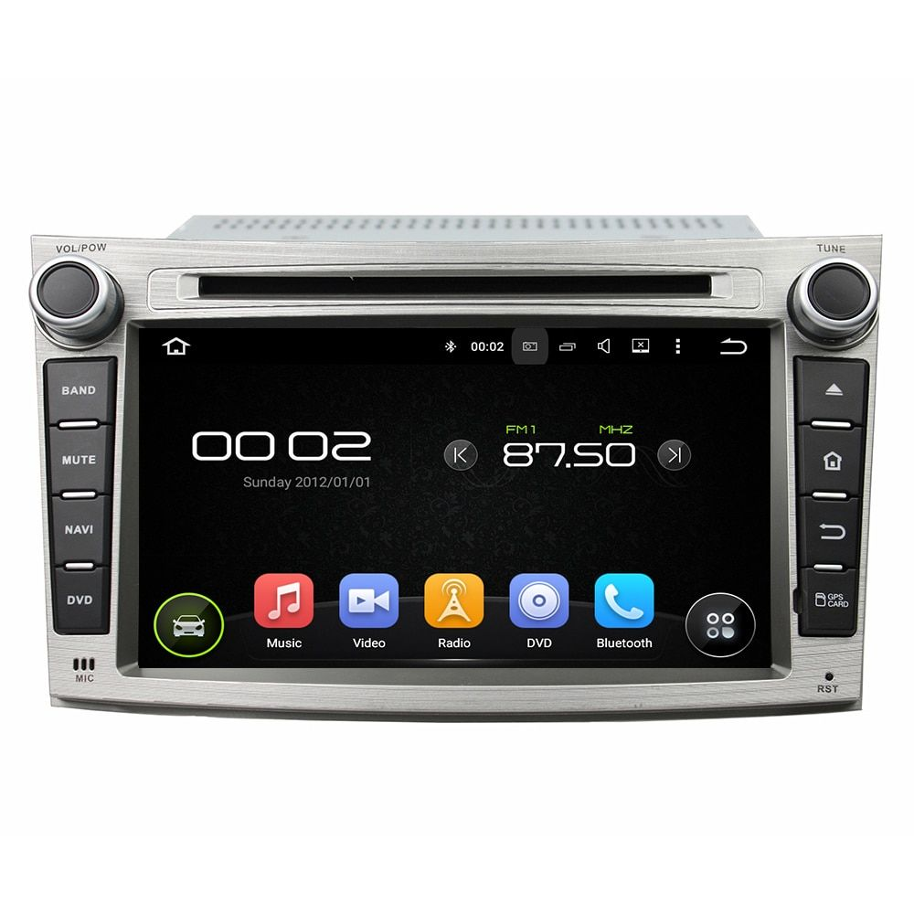 OTOJETA Android 8.0 car DVD player octa Core 4GB RAM 32GB rom for subaru Legacy outback 2009-2012 radio touch stereo head units