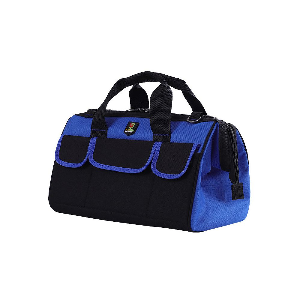 Multifunctional Large Capacity Oxford Cloth Toolkit for Plumber and Electrician One-shouldered Portable Dual-use Bag Tool Bag