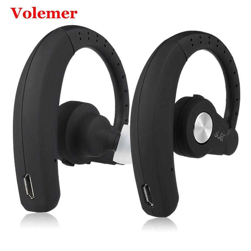 Volemer T9S écouteur sans fil avec micro Bluetooth écouteurs Sport stéréo musique casque Intelligent réduction du bruit affaires casque