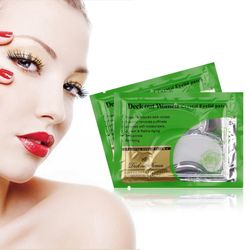 10pcs/lot Anti-Wrinkle Crystal Collagen Eye Mask,Remove Black Eye Face care Skin care,Women Crystal Eyelid Patch,Free Shipping