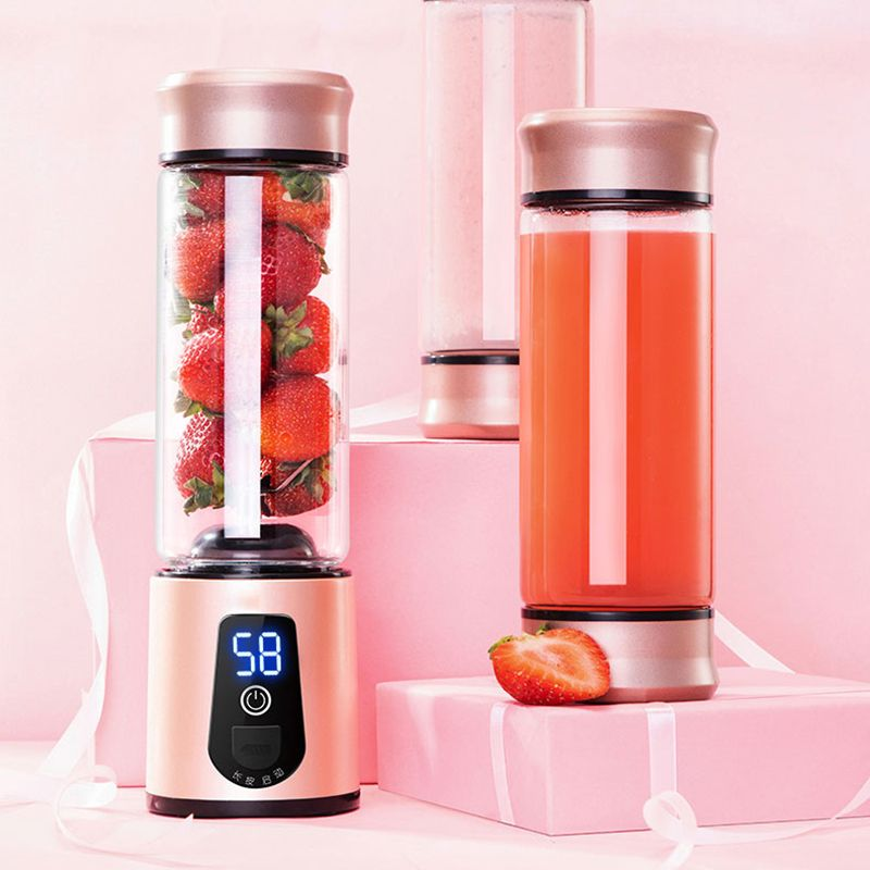 Portable Electric Juicer Blender USB Mini Fruit Mixers Juicers Fruit Extractors Food Milkshake Multifunction Juice Maker Machine
