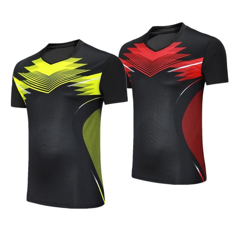 Weibliche/Männliche Badminton shirts Trainning kleidung, tischtennis kurzarm sportswear jersey, ping pong/tennis/volleyball t-shirts