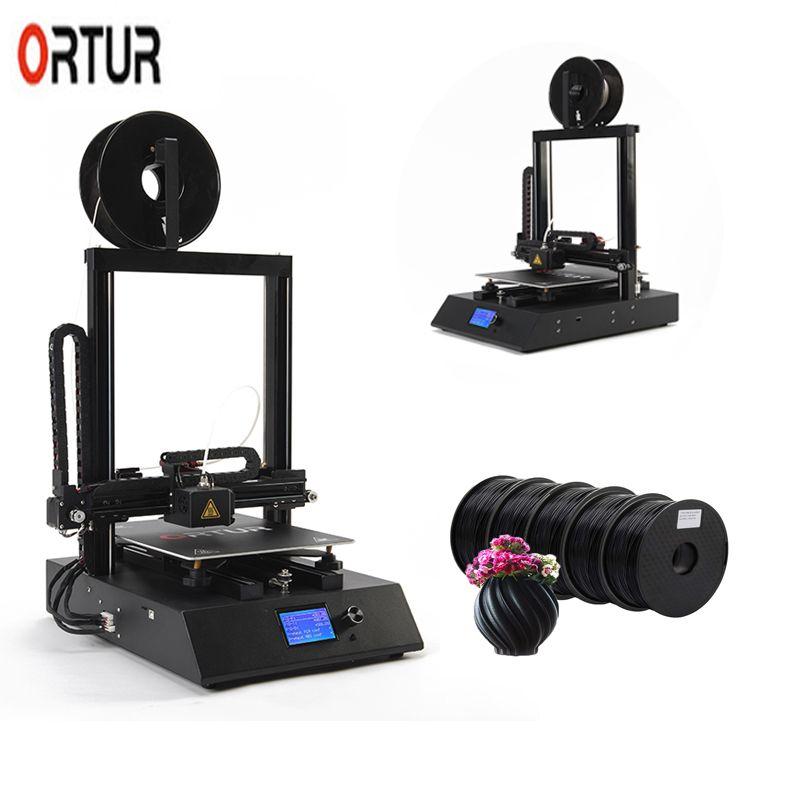2019 neue 260*310*305 MM Ortur 4 3D Drucker mit Auto Nivellierung Fortsetzen Druck Filament Sensor Linear führungsschiene impresora 3d