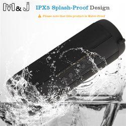 M & J беспроводной лучший Bluetooth динамик водостойкий Портативный Открытый Мини Колонка коробка громкий динамик дизайн для iPhone Xiaomi