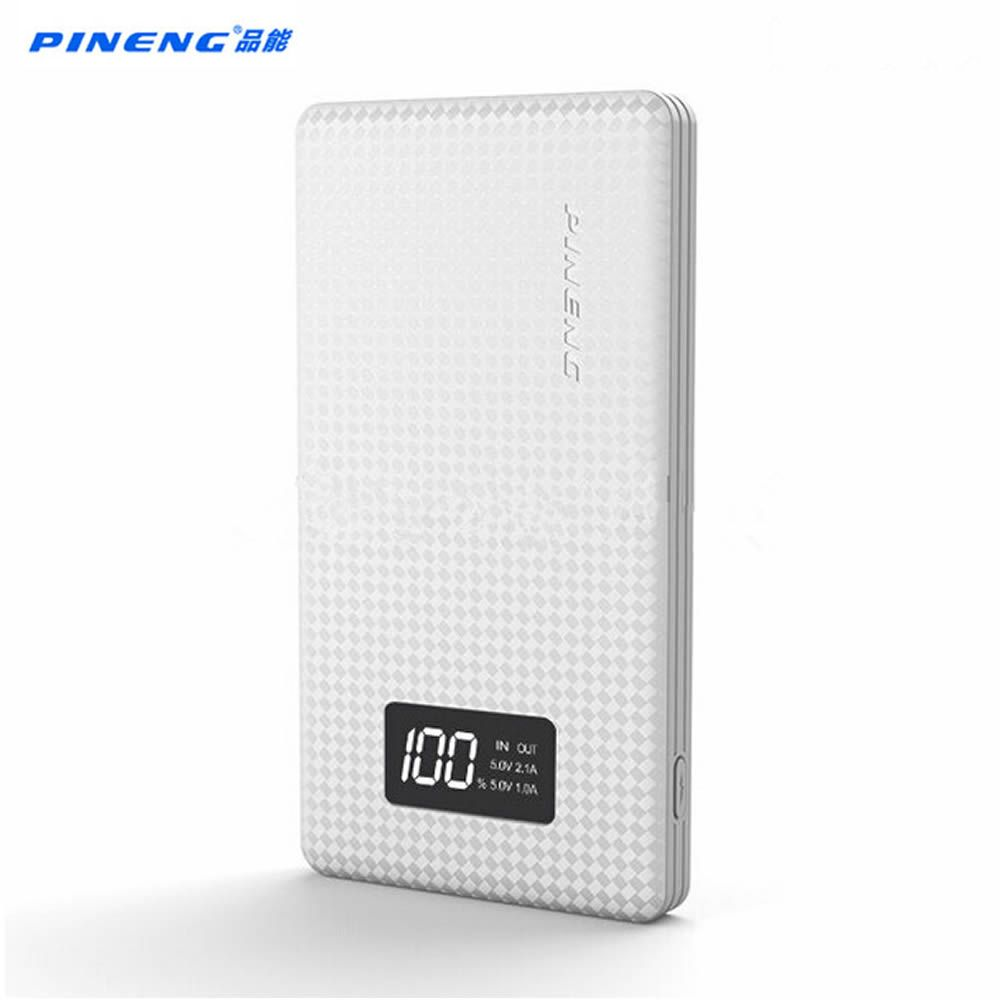 Pineng 10000mah PN963 Power Bank PN-963 power Portable Battery Mobile Li-Polymer Bank with LED Indicator For iphone7 Samsung S7