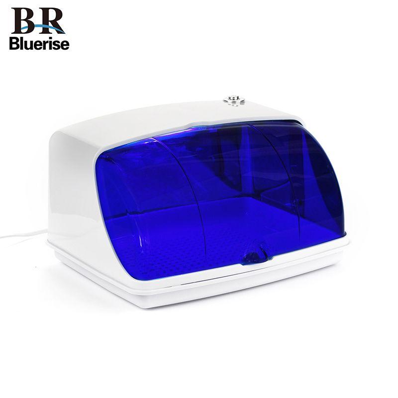 Bluerise UV stérilisateur ongles outils stérilisateur boîte manucure outils stérilisateur pour manucure Instruments désinfection armoires lampe