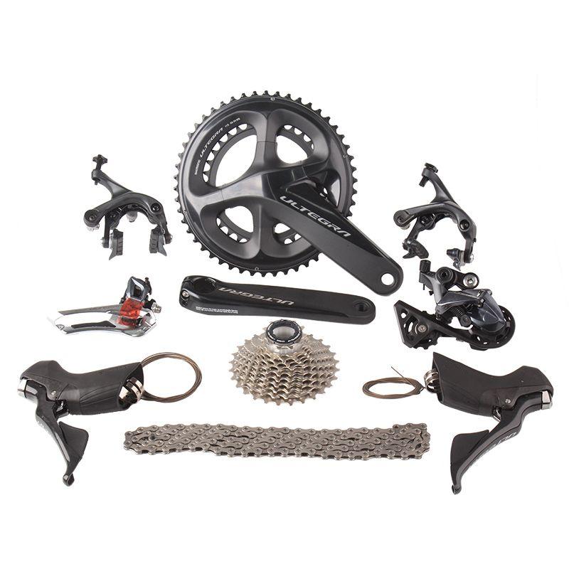 Shimano ULTEGRA R8000 2x11 22 s Geschwindigkeit 50/34 53/39 52x36 t 170mm 172,5mm Straße fahrrad Groupset Schaltwerk Kit