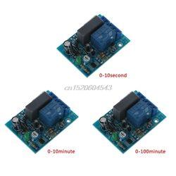 AC 220 В регулируемый таймер задержки переключатель включения/выключения реле времени модуль R06 Прямая поставка