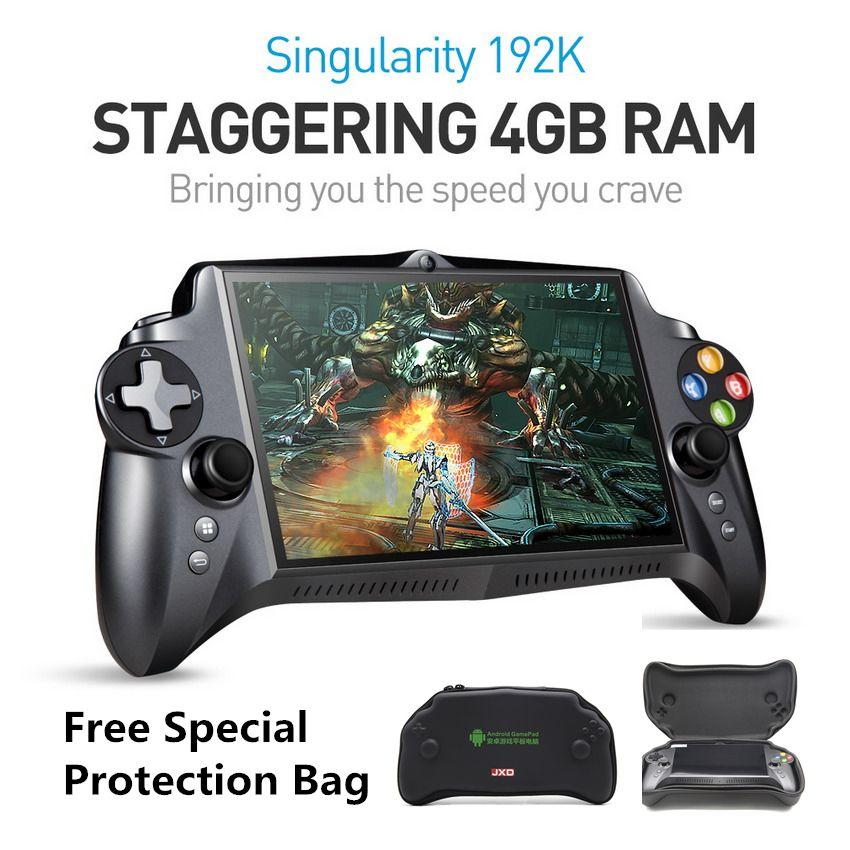 JXD S192K 7 pouces 1920X1200 Quad Core 4G/64GB nouvelle manette 10000mAh Android 5.1 tablette PC Console de jeu vidéo 18 simulateurs/jeu PC