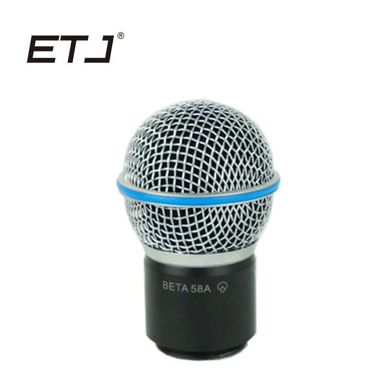 Free shipping!1PCS Professional Wireless Microphone Handheld MIC Beta58a sm 58 Head Capsule Grill for PGX24 / SLX24