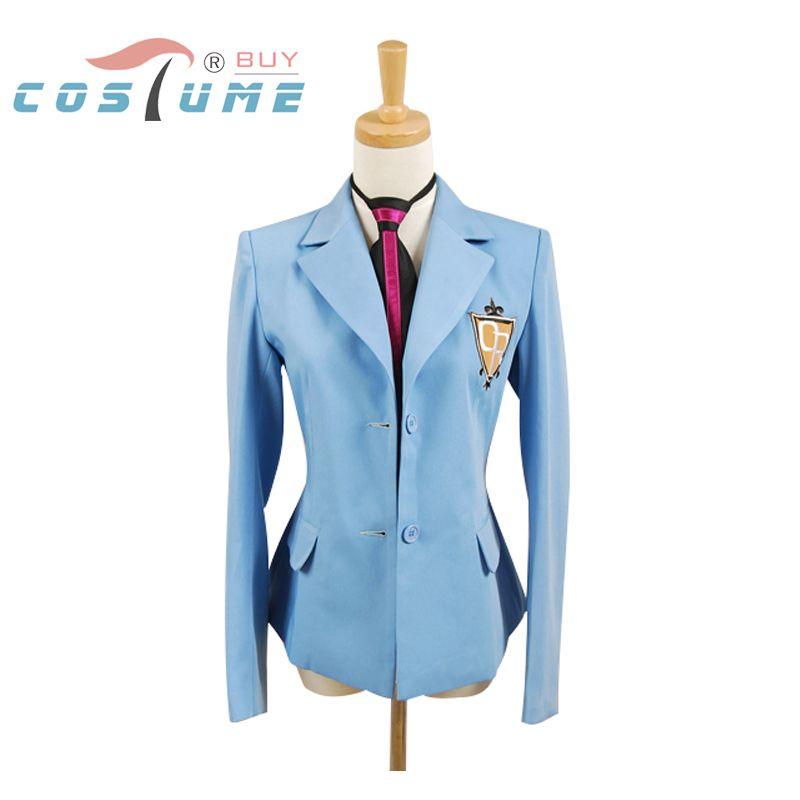Veste et cravate de Costume Cosplay Ouran lycée hôte Club école Haruhi Kyoya Hikaru Takashi seulement