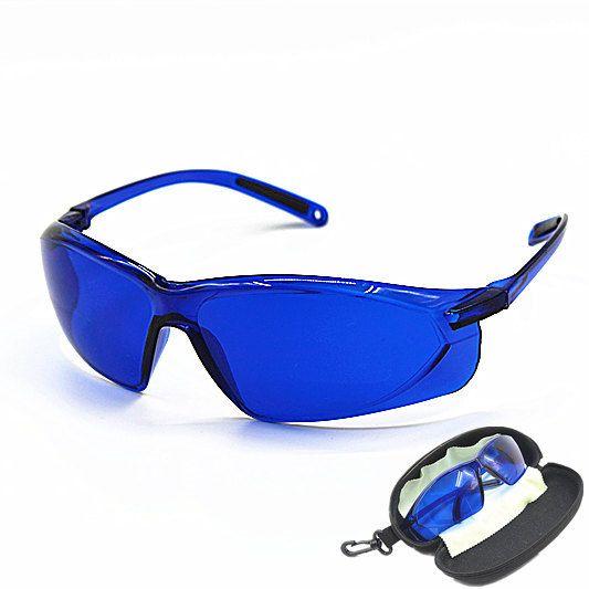 Nouvelles lunettes de protection de beauté IPL rouge Laser hoton couleur lumière lunettes de sécurité 200-1200nm large spectre d'absorption continue
