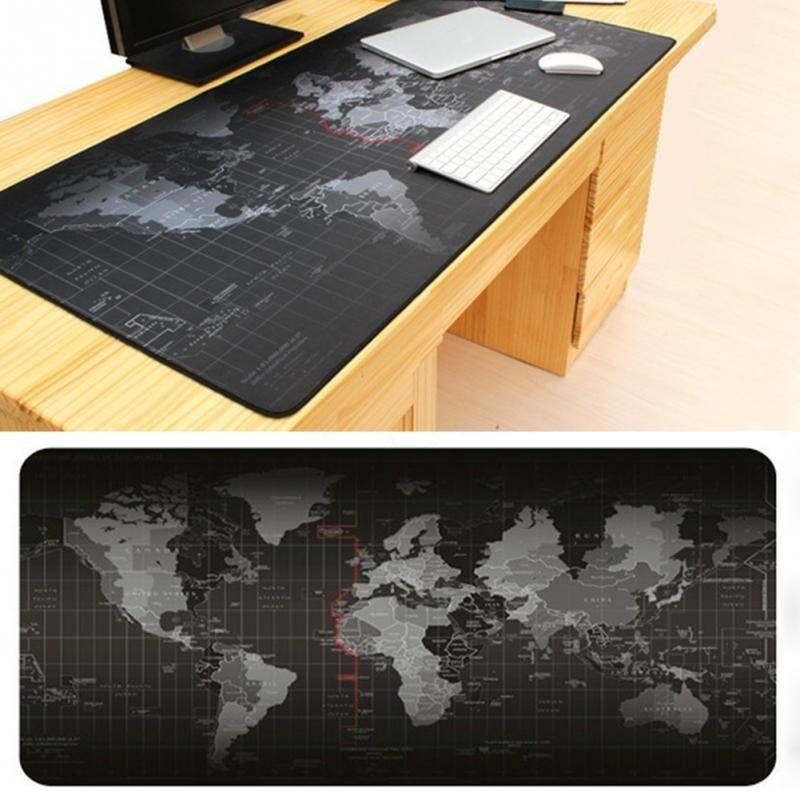 Mode vendeur Carte de Vieux Monde souris pad 2018 nouveau grand pad pour la souris notbook ordinateur tapis de souris de jeu tapis à souris gamer
