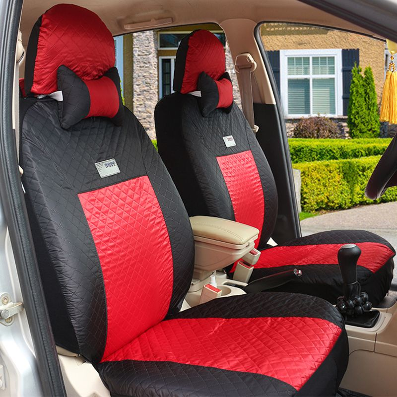 (Front + Rear) Universal car seat covers For Hyundai solaris ix35 i30 ix25 Elantra accent tucson Sonata auto accessories