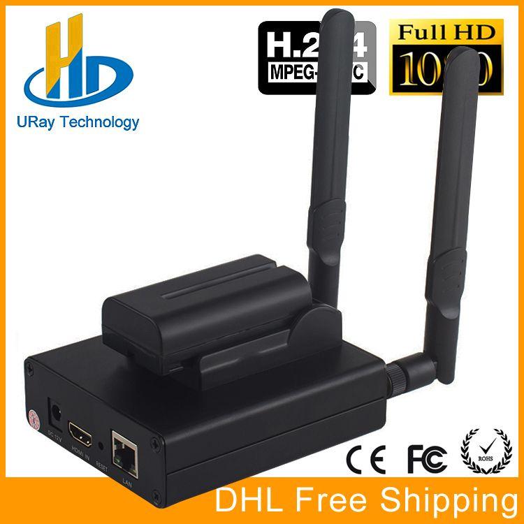 DHL Free Shipping MPEG-4 AVC/H.264 WIFI HDMI Video Encoder HDMI Transmitter Live Broadcast Encoder Wireless H264 IPTV Encoder
