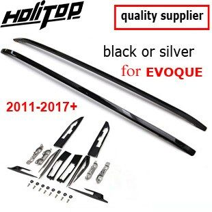 Hot OE model roof rack roof bar luggage rail for Range Rover Evoque 2011-2017+,black & silver,ISO9001 quality,promotion price