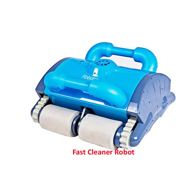 Cheaper Automatic Pool Cleaner Robot model 120 which is for the clean area 100-200M2,Remote Control,Wall Cleaning Function