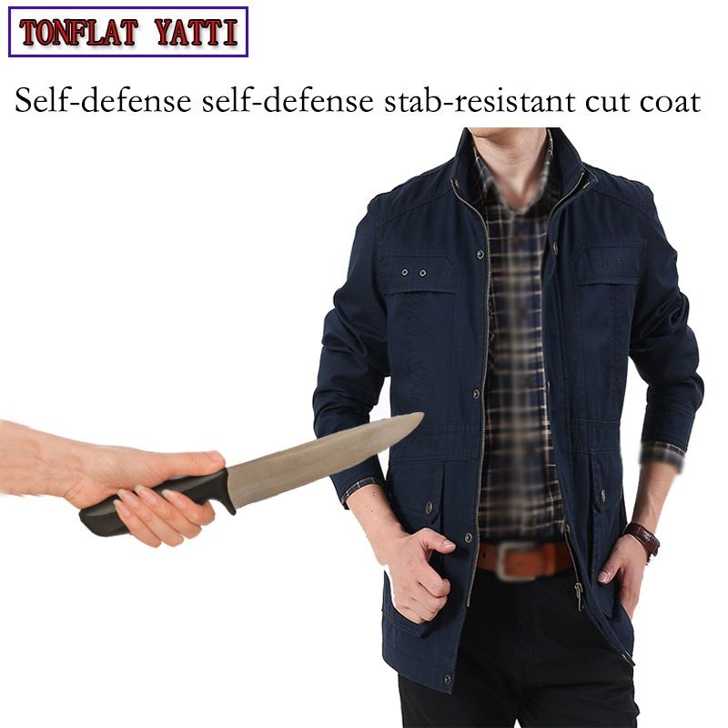 Military Self Defense Anti-Cutting Jacket Slim Covert Stab Fbi Swat Policial Safety Tactical Gear Defensa Personal Clothing3colr