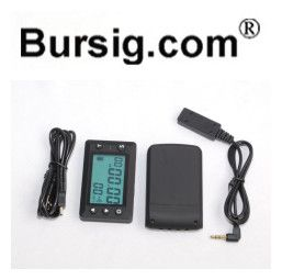 V4 Big Screen Lap Timer counter PC USB Download Receiver Infrared Ultrared Transmitter for Motorcycle Karting Racing Track